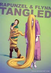 Rapunzel BADASS by Tohad