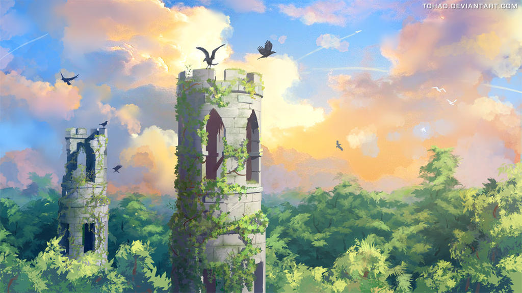 Ravens Tower by Tohad