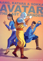 Avatar the last airbender BADASS by Tohad