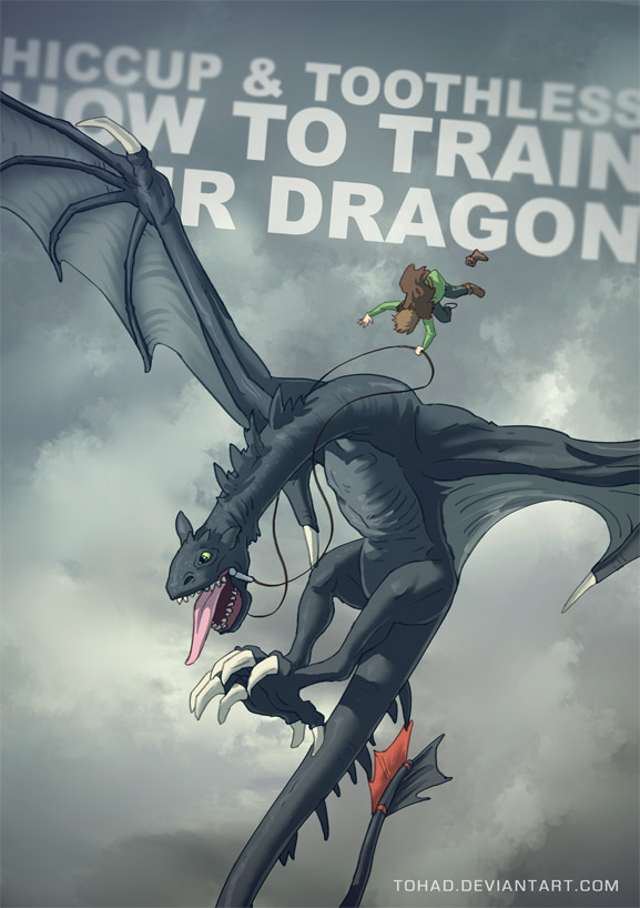 How to train your dragon BADASS by Tohad