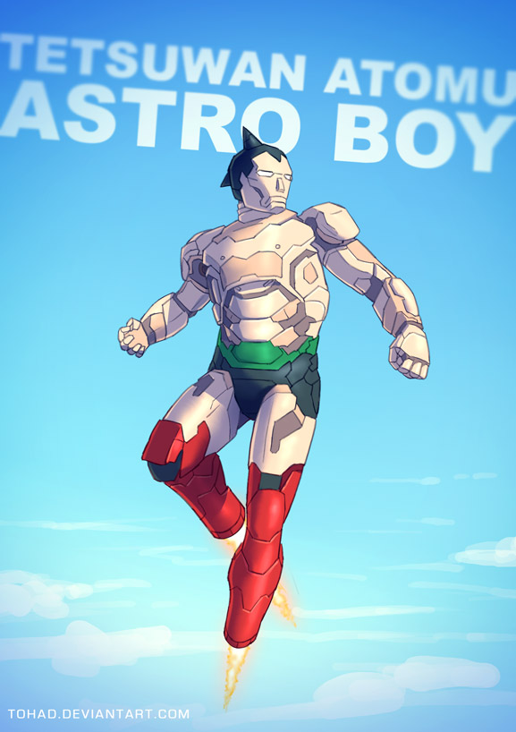 Astro Boy BADASS by Tohad