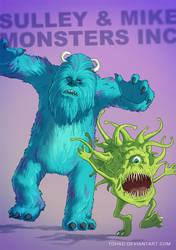 Monsters Inc BADASS by Tohad