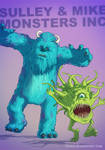 Monsters Inc BADASS