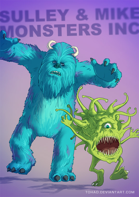 Real Art Design Group Inc : Monsters inc badass by tohad on deviantart