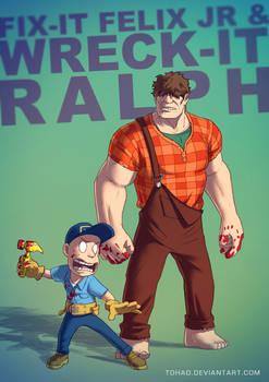 Wreck-it Ralph BADASS