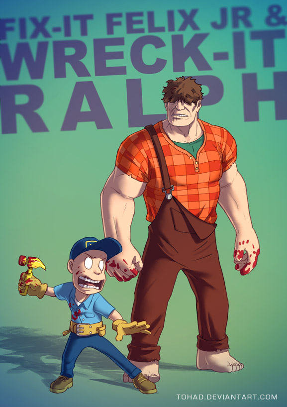 Wreck-it Ralph BADASS by Tohad
