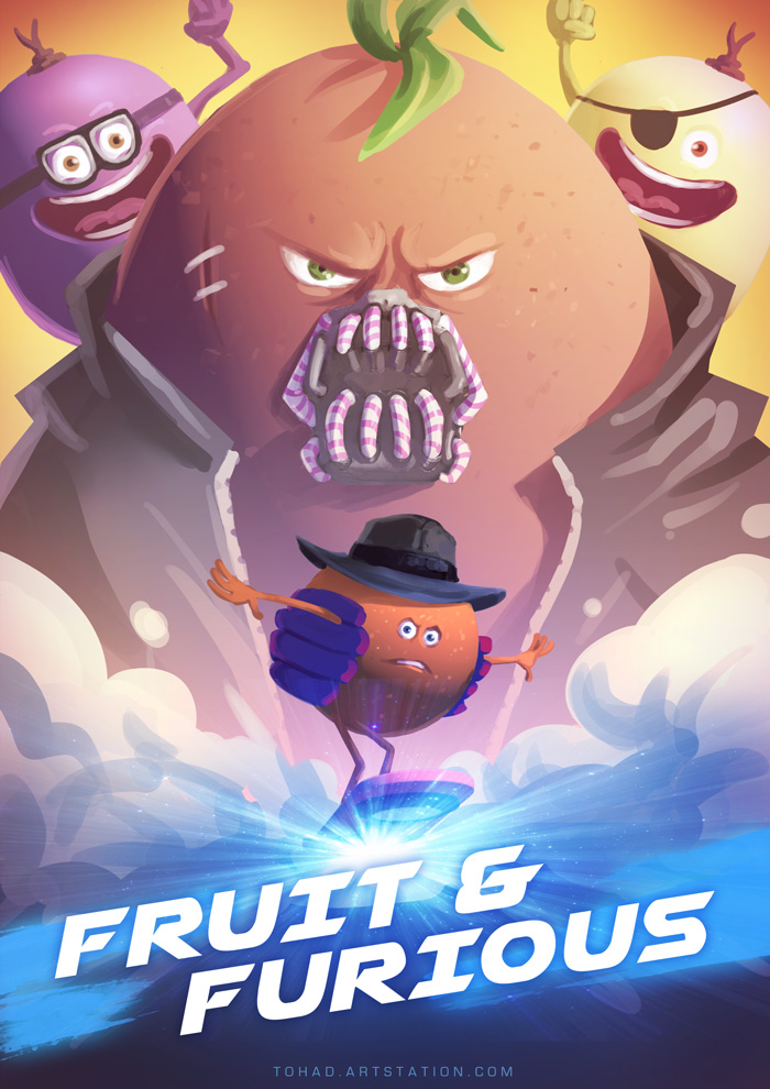 Fruit and furious by Tohad