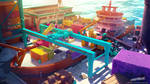 Streamline concept-art : Cargo