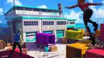Streamline concept-art : truck facility