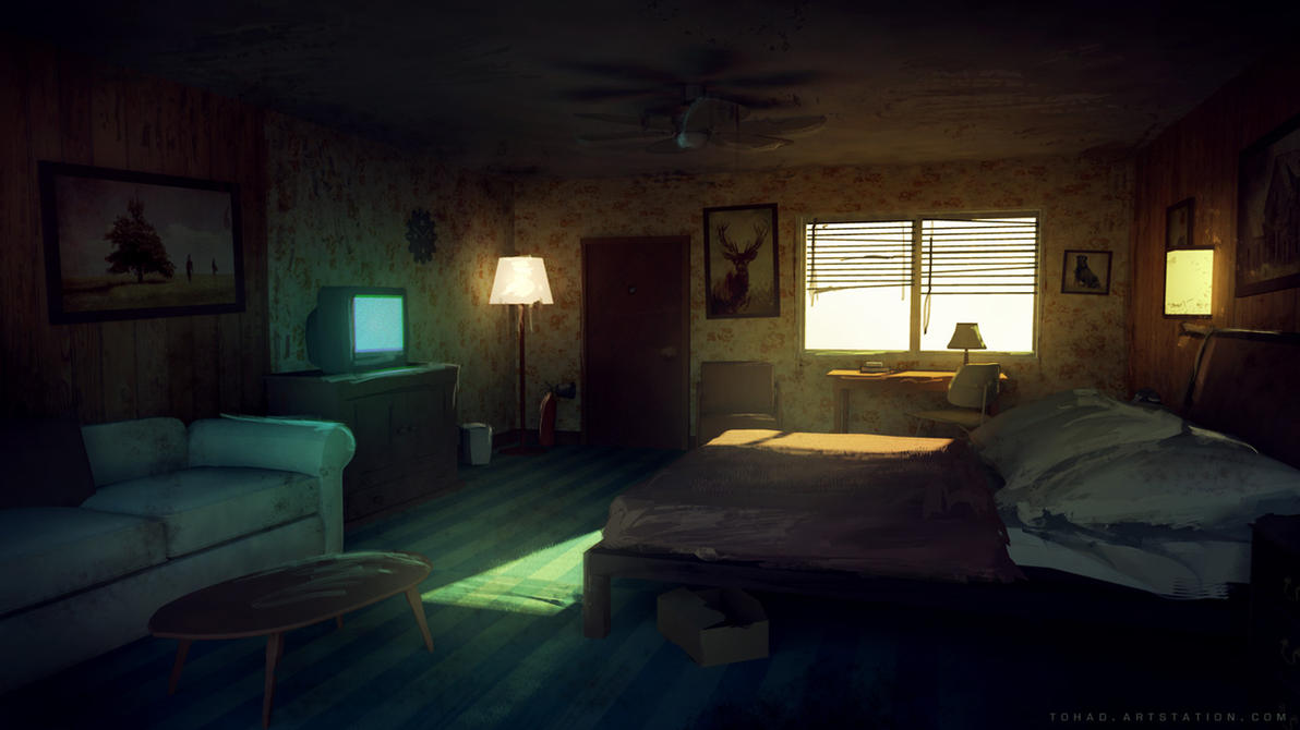 Dark Days : the room by Tohad