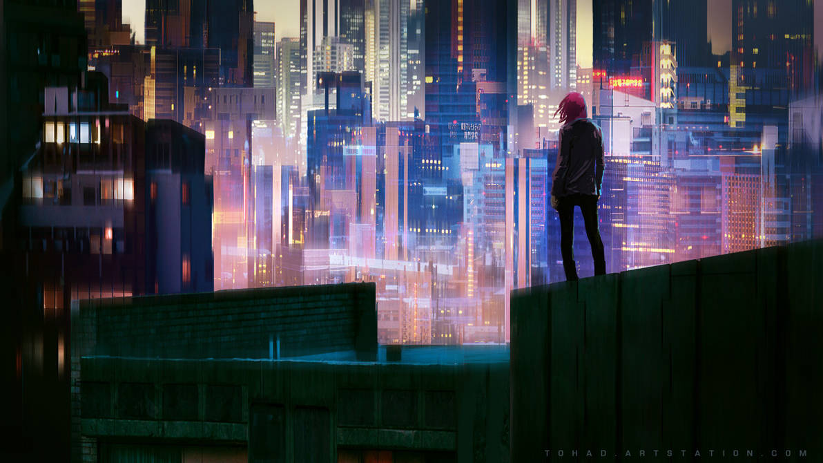 Glow City by Tohad