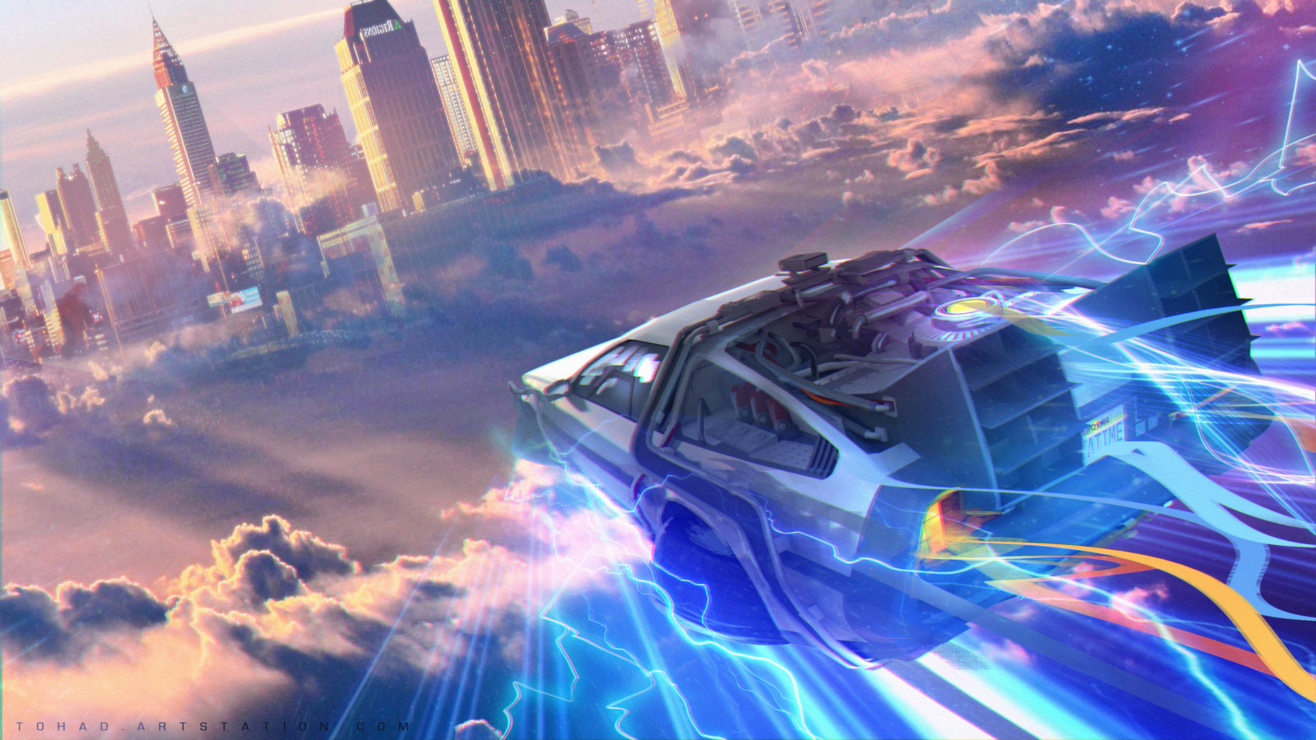 Back to the Future 4 : the journey by Tohad