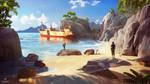 SOS concept art : Beach