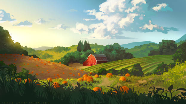 Countryside by Tohad