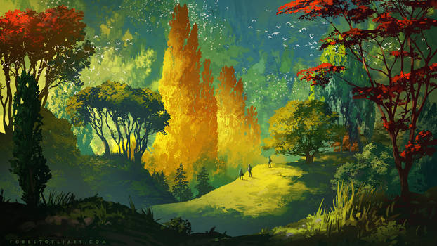 Forest of Liars : Wandering