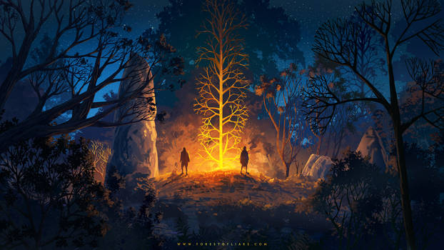 Forest of Liars : Strange night
