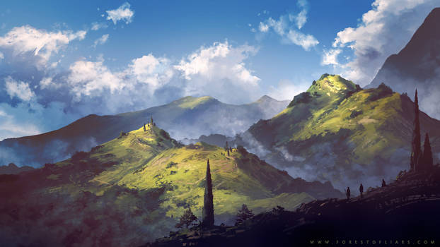 Forest of Liars : Traveling with clouds