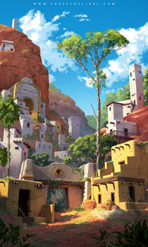 Forest of Liars - the forgotten city