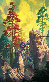 Forest of Liars : vertical contemplation