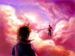 Confrontation in the clouds