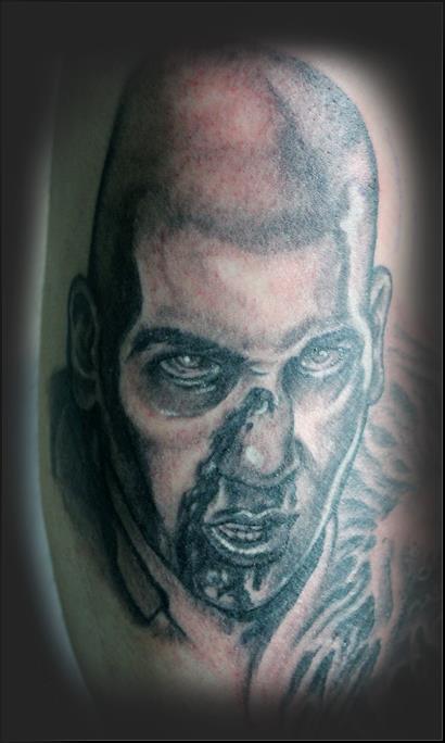 Zombie Shane Tattoo - The Walking Dead by dlowery317 on ...