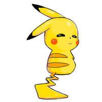 A Devious Pikachu by Lorniepoo
