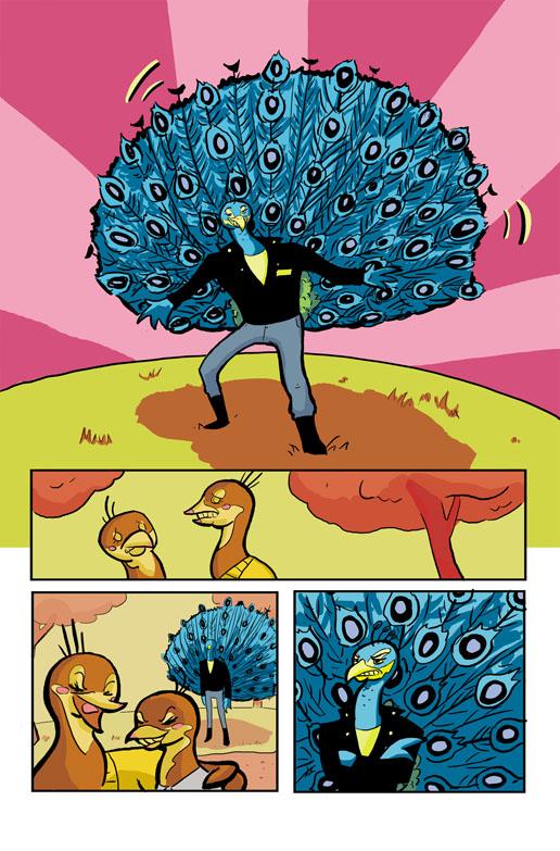 Peacock Comic - photo#4
