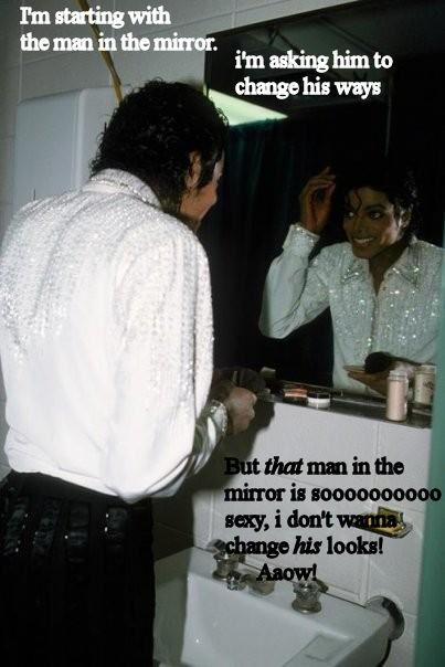 man in the mirror by Dark7Priestess7Kikyo