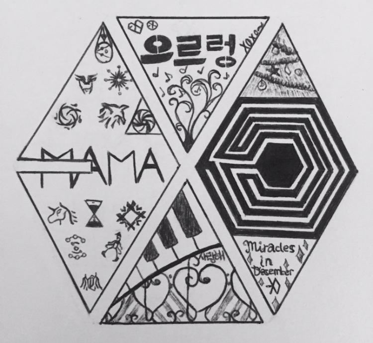 EXO Logo By Aquadrizzle