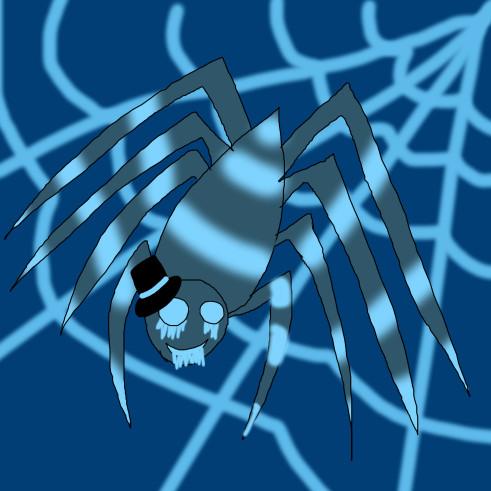 Moon Acid Spider by Silversugar444