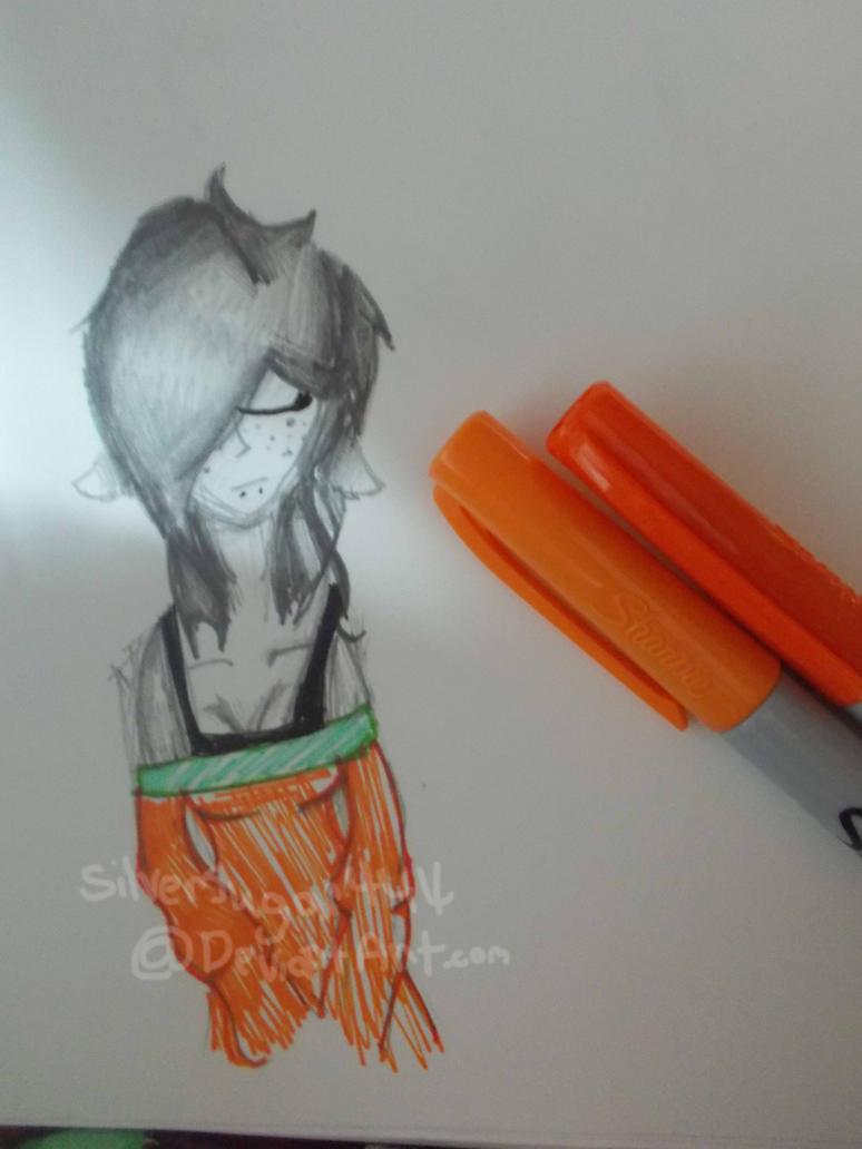 Warm Orange by Silversugar444