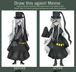 Before and After: Undertaker 2 by Informative-Silver