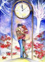 Christmas under the clock by vanillasky93
