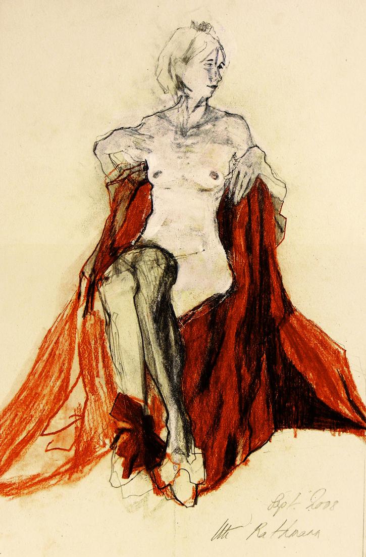 Homage to Egon Schiele IV by uterathmann