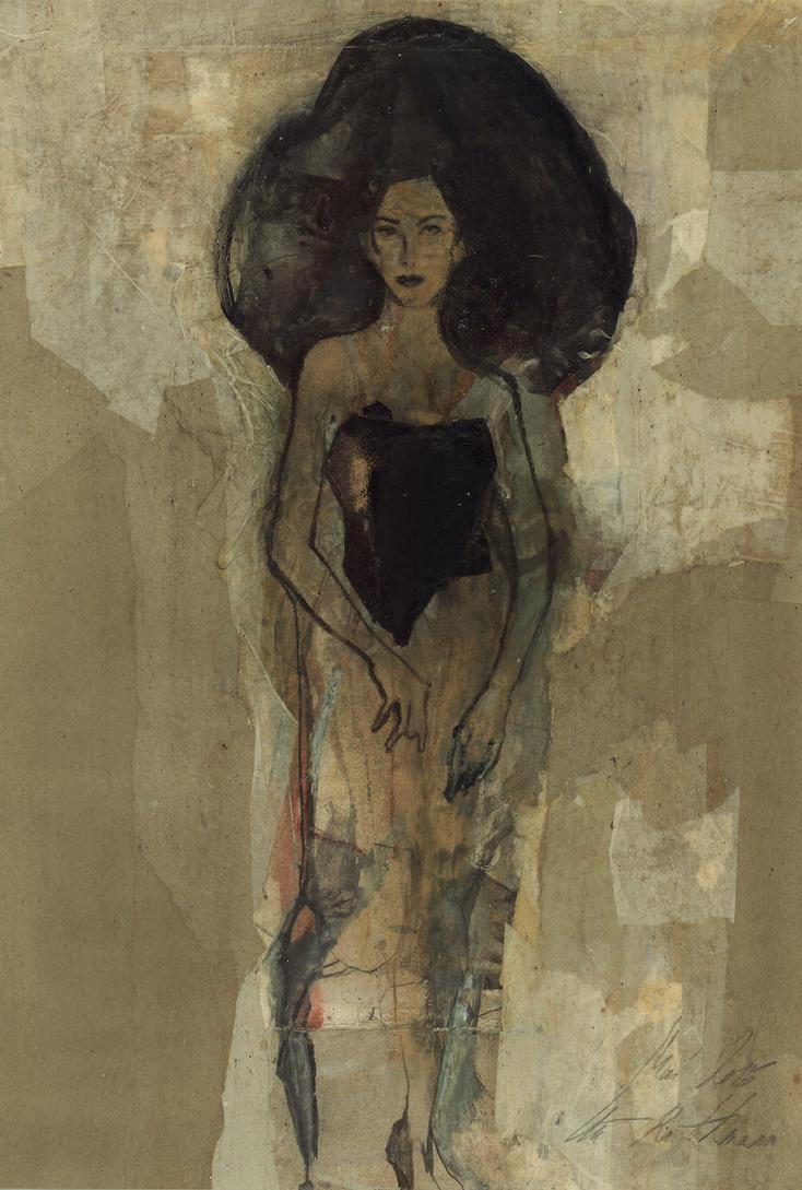 Homage  to Schiele XXIX by uterathmann