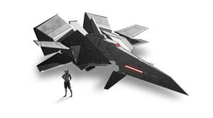 High Speed Fighter by arthurloftis