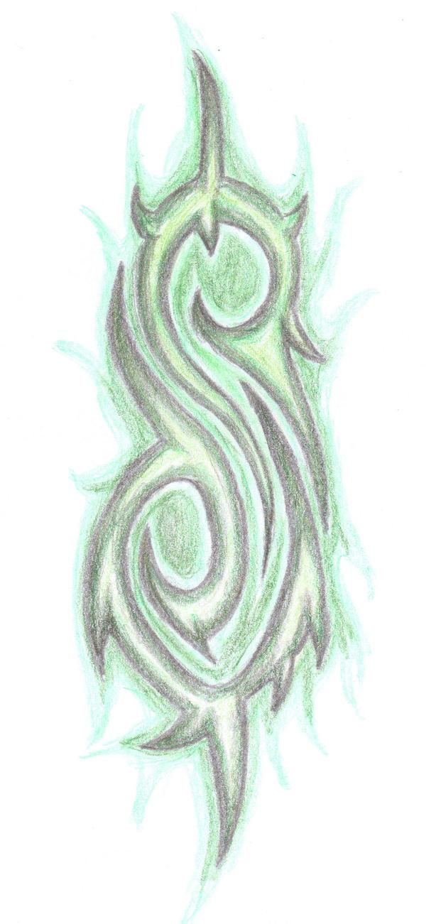slipknot tattoo by shadowwolf37 on deviantart. Black Bedroom Furniture Sets. Home Design Ideas