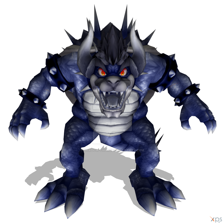 Dark Giga Bowser Re-texture by Shadow-chan15 on DeviantArt
