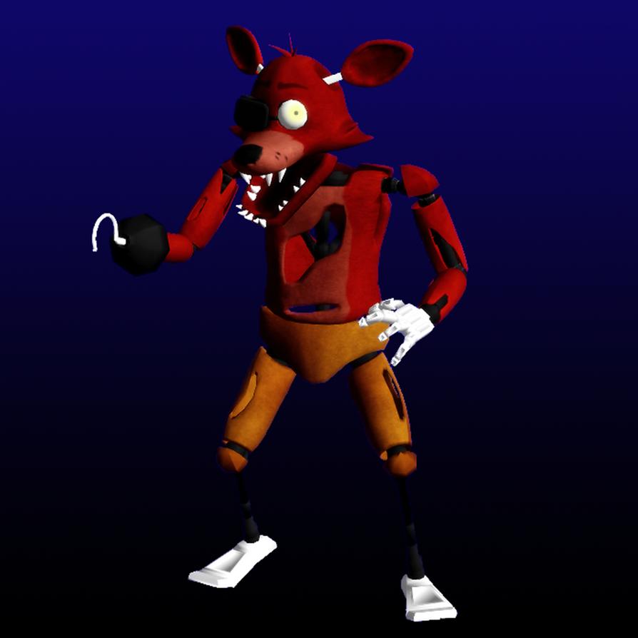 FNAF- Foxy By Shadow-chan15 On DeviantArt