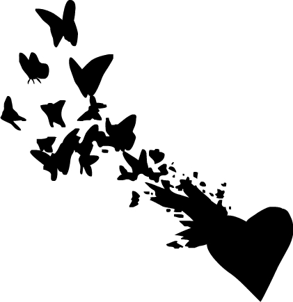 with love comes butterflies