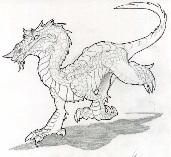 Dibujos chingones a lapiz de dragones - Imagui