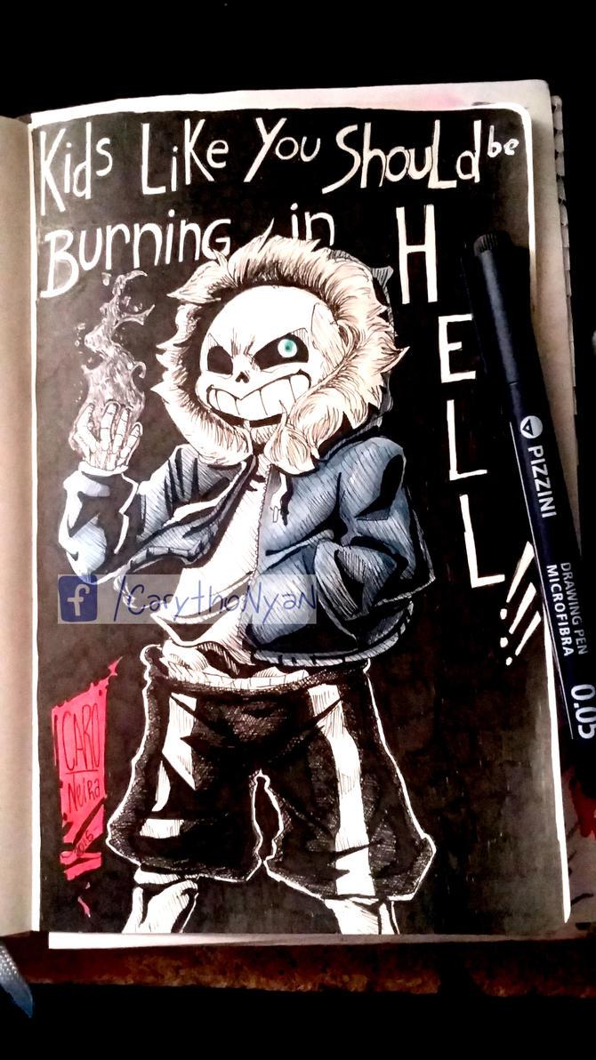Burn In Hell by Jauntymania