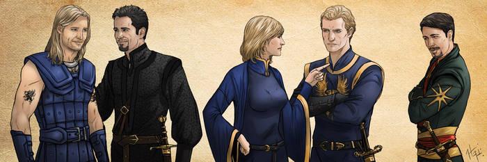 Orlesians Dragon age: The Calling by Ladyofpayne