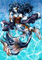 Koi Mermaid by sakohju
