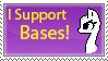 I Support Bases Stamp by angelinadraws