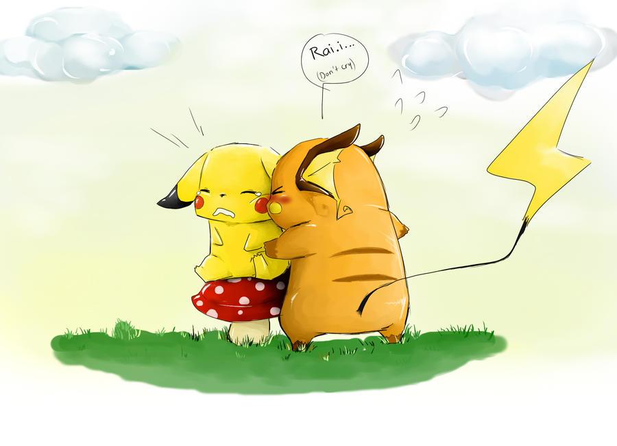 Pikachu and raichu dancing - photo#16