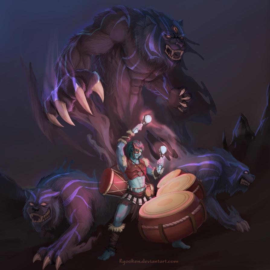 my summoner by Ryooken