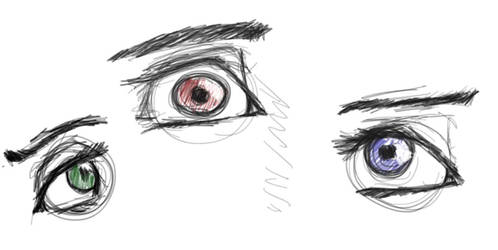 Eyes by Firepowerbaby