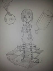 Fran bow by Firepowerbaby