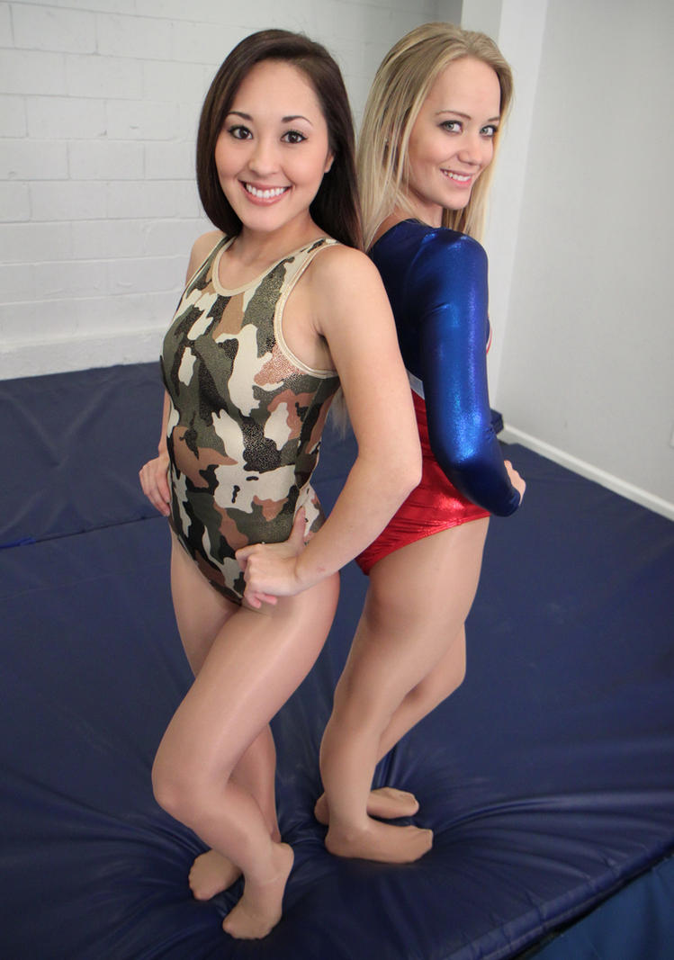 Sumiko wrestles with wedgies 2
